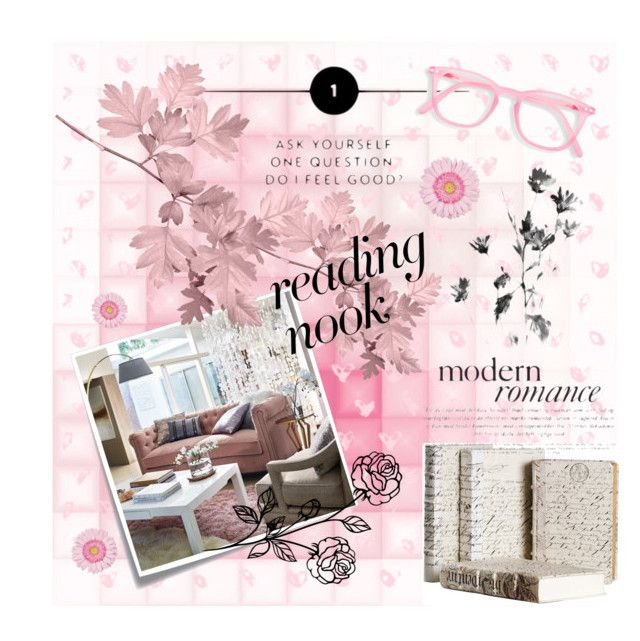 """""""reading nook"""" by flie9enpilz on Polyvore featuring interior, interiors, interior design, home, home decor, interior decorating, Post-It, Frontgate and Nook"""