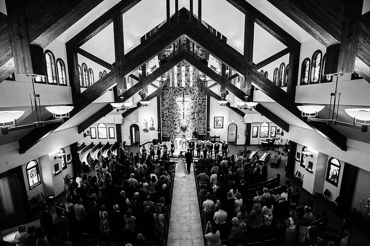 A traditional religious ceremony in Steamboat Springs, Colorado. St. Paul's Episcopal Church.