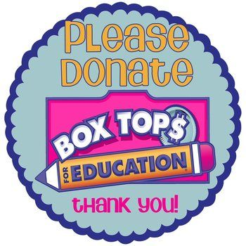 Box Tops for Education Label