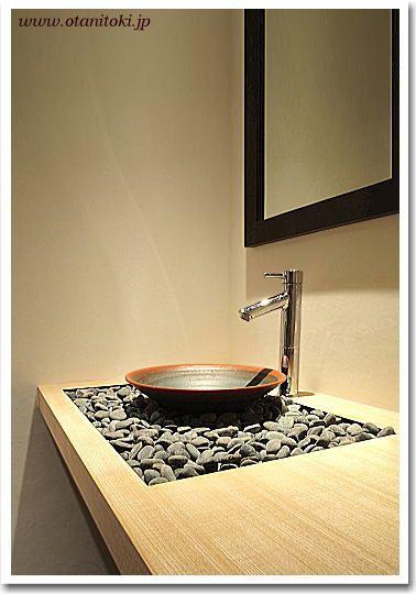 設計 一級建築士事務所comma 様 手洗い鉢【マース】設置施工例