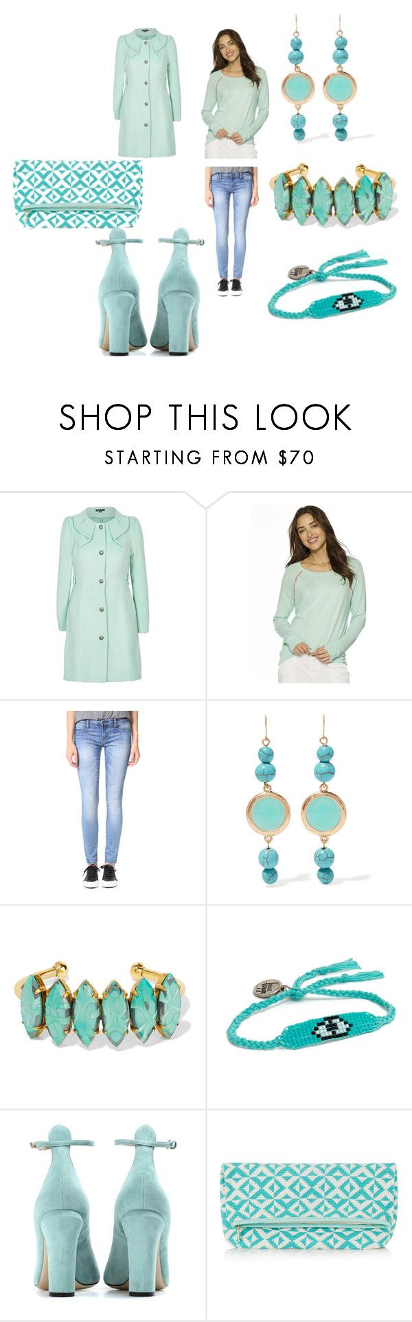 """Elegant"" by jamuna-kaalla ❤ liked on Polyvore featuring City Chic, Peace Love World, Blank Denim, Kenneth Jay Lane, Elizabeth Cole, Venessa Arizaga, Valentino and Sophie Anderson"