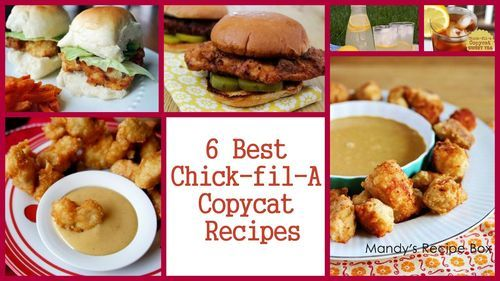 Bring Chick-fil-A a little closer to home with the 8 Best Chick-fil-A Copycat Recipes. These recipes are all the best and easy to make. You will find yourself making these irresistible Chick-fil-A recipes every chance you can.
