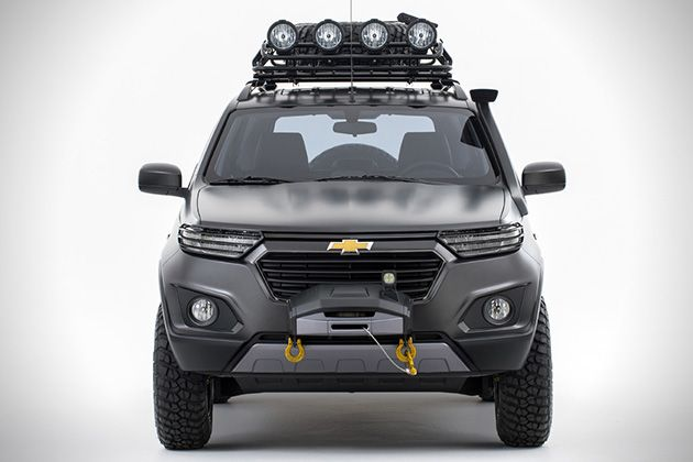 Chevrolet Niva Concept  with BUZZRACK roof basket