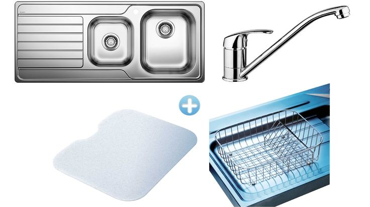 blanco l h sink and accessories package more sinks harvey l h sink ...