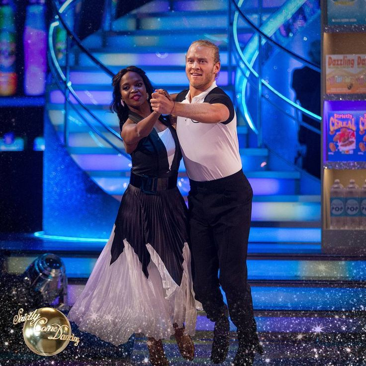 """BBC Strictly (@bbcstrictly) on Instagram: """"@otimabuse had to keep up with @04jonpea in last night's Quickstep! ♂️"""""""