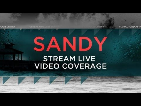 Massive hurricane Sandy October 2012