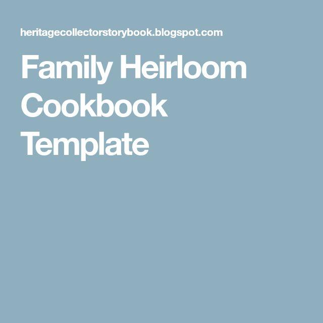 The 25+ best Cookbook template ideas on Pinterest Recipe books - free recipe templates