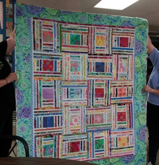 Salvage end quilt