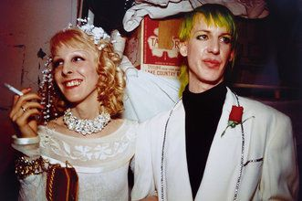 Nan Goldin Greer' s and Paul' s wedding. New York, 1987, cibachrome
