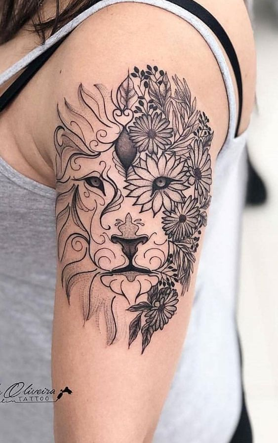 50 Best Leo Zodiac Tattoo Design Ideas