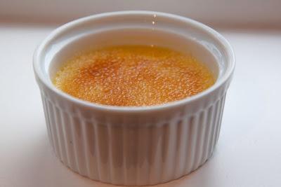 Crème Brülèe - en av mine favoritter.