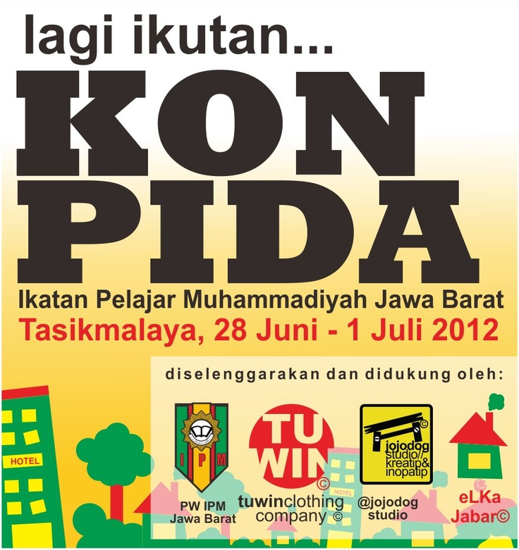 another IPM Profile picture, for FB, BB Twitter, Konpida #eventIPM West Java 2012, proudly created by @Daeng Muhammad Feisal ^^  http://www.ipm.or.id