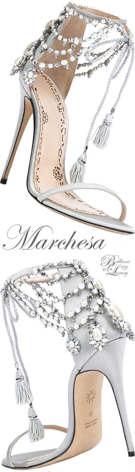 Brilliant Luxury ♦ Marchesa Marissa Sandal