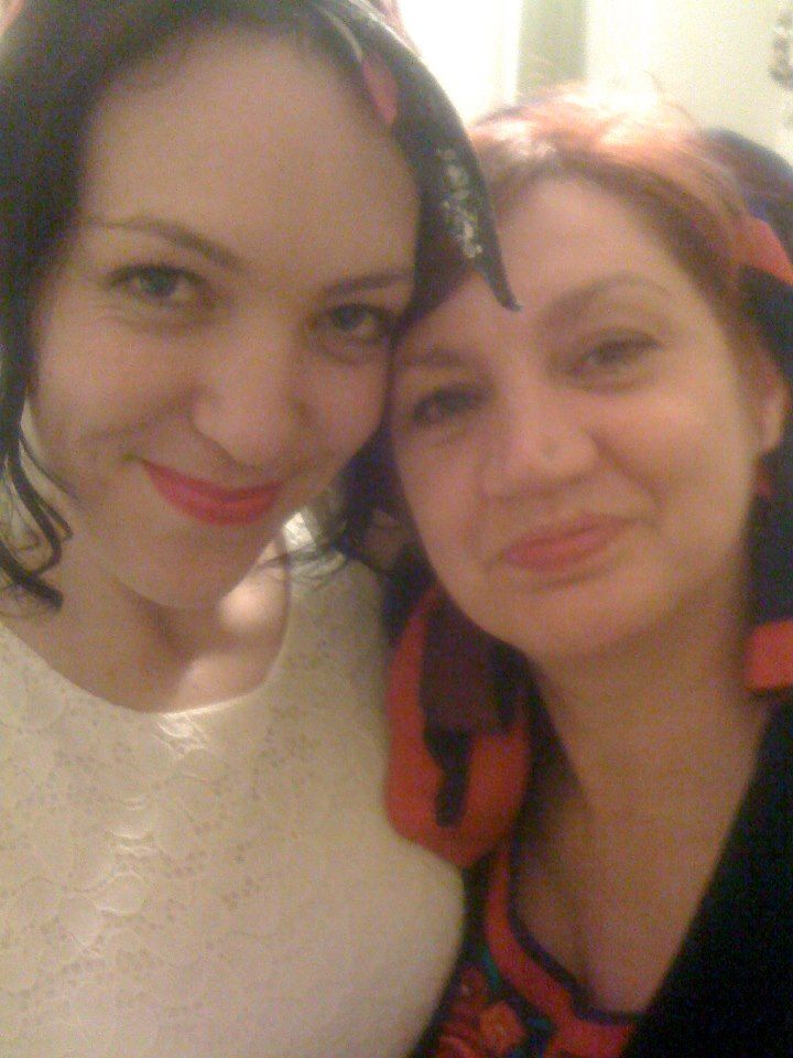 Me and miss Folk herself - Alison St Ledger!