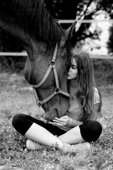 Girl and her Horse! Best Friend! Love!