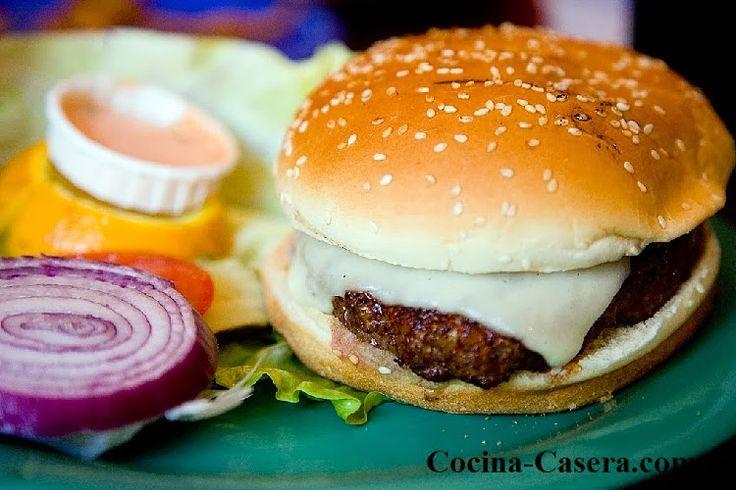 Filete de hamburguesa al estilo original de Hamburgo | Recetas de Cocina Casera | Recetas fáciles y sencillas