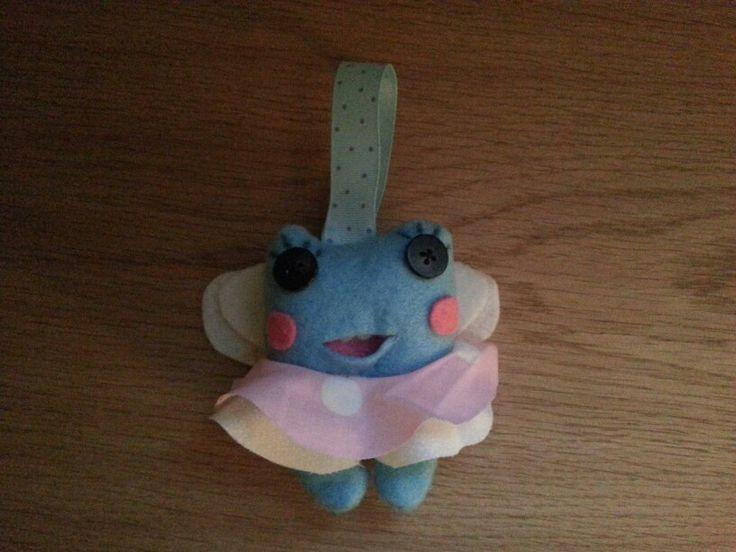 Gabby's tooth holder