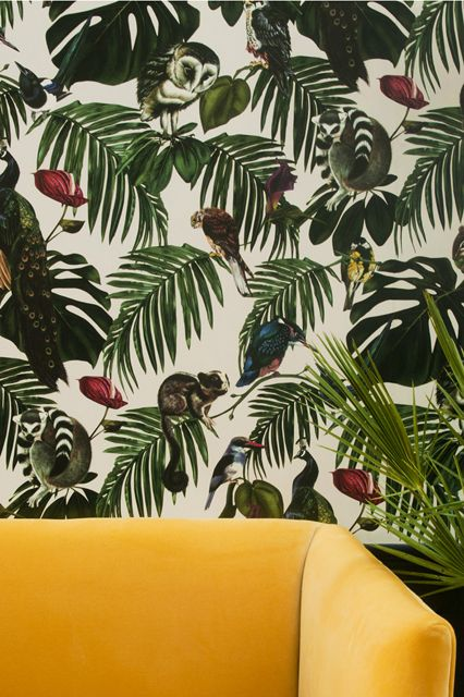 12 Reasons To Stop Fearing Wallpaper #refinery29  http://www.refinery29.com/best-wallpaper#slide10