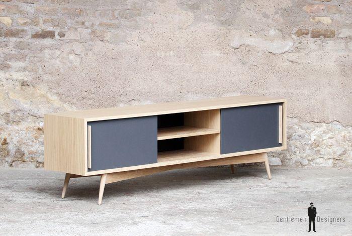 1000 id es sur le th me meuble tv bois sur pinterest meuble tv bois massif - Meuble made in france ...