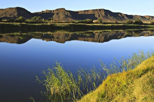 Gariep River or Orange River from Fiddlers Creek, South Africa, South Africa travel, South Africa photo