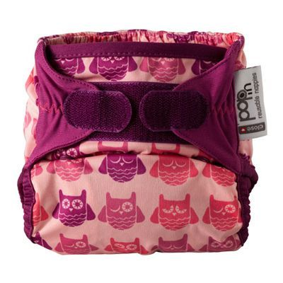 Couche lavable TU Pop-in Bambou Hibou