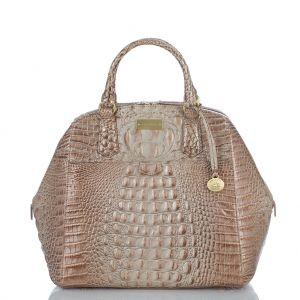 The new #brahmin adele satchel in azec leather
