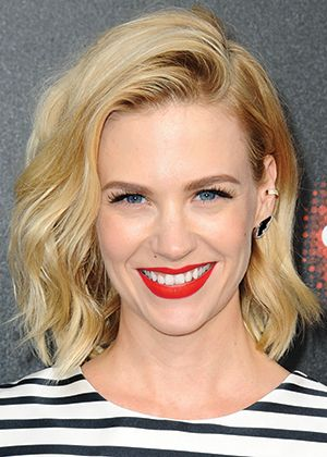 Le long bob de January Jones - Louloumagazine.com