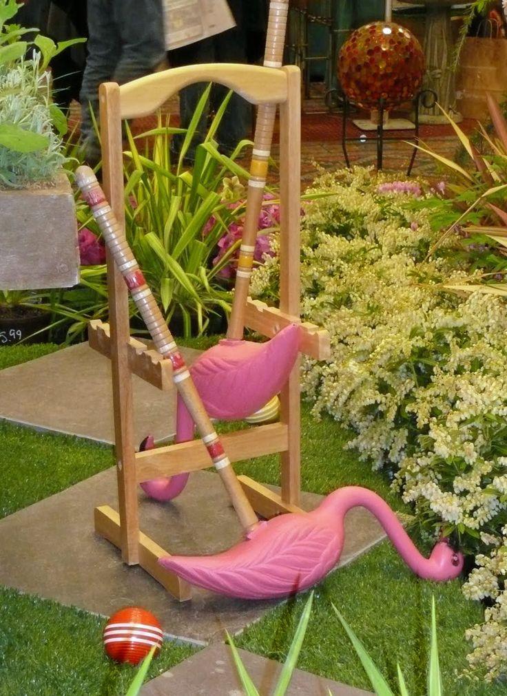 alice wonderland garden Cute put pink plastic