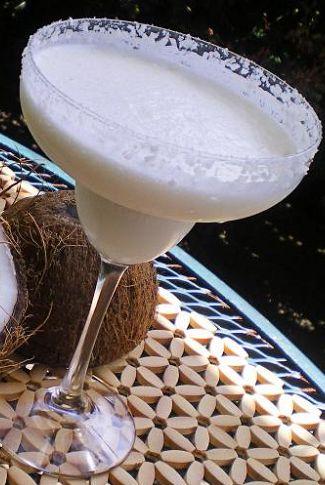 #tequila #coconut #margarita #cocktail #drink