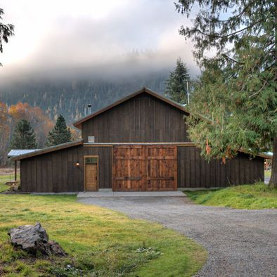 25 best ideas about barn garage on pinterest pole barn