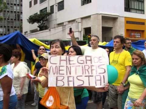 FOTOS - MANIFESTAÇÃO PRÓ IMPEACHMENT - 15 DE MARÇO SP