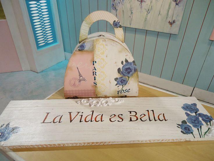 Pintura y decoraciones en papel con laminas Herminia Devoto por Graciela Gomez