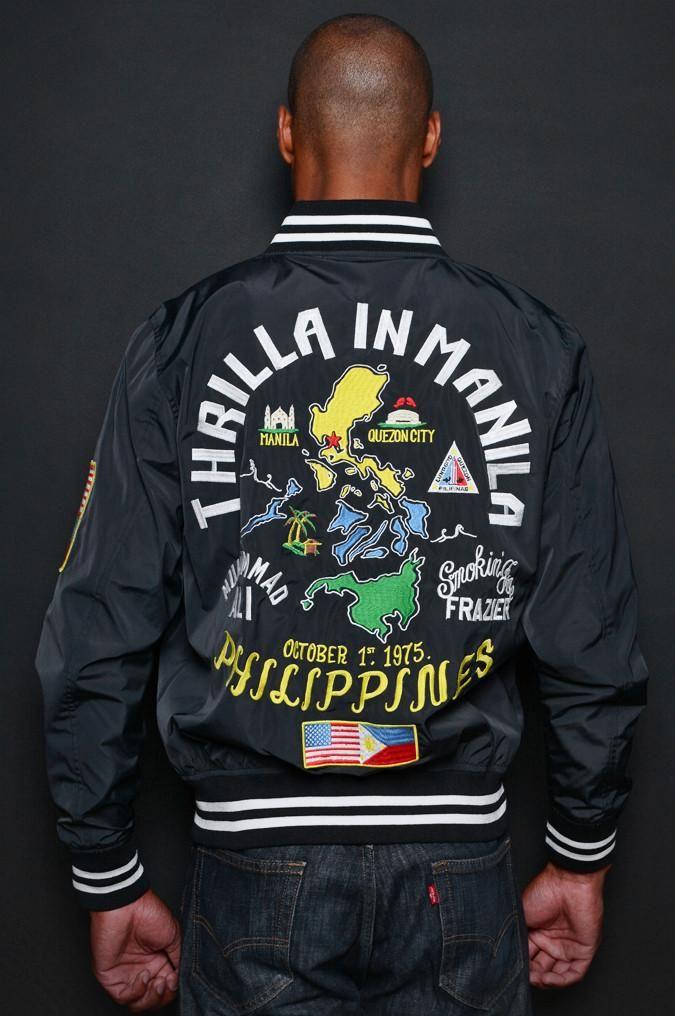 Thrilla in Manila Stadium Jacket | Roots of Fight