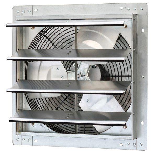 1280 Cfm Bathroom Fan With Variable Speed Exhaust Fan Wall