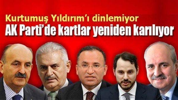 AK Parti'de kartlar yeniden karılıyor!