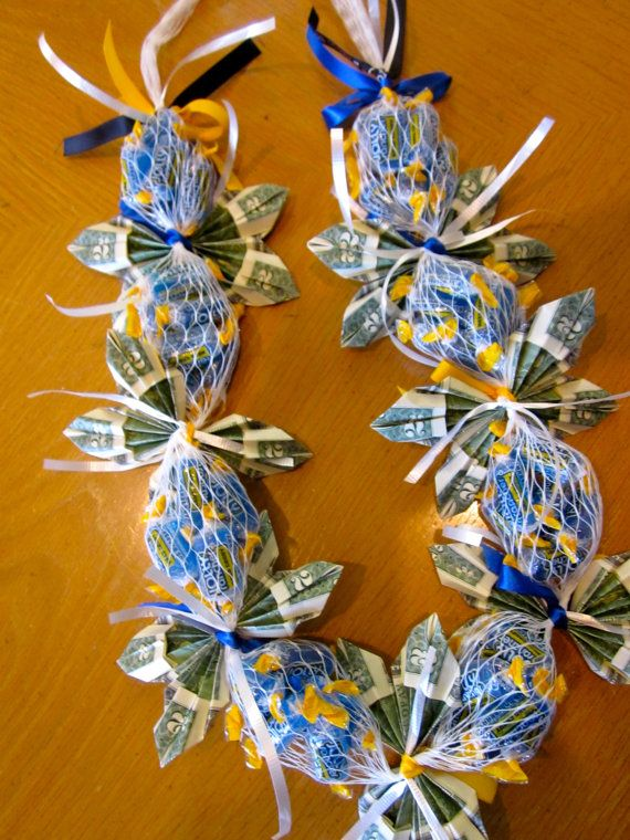 Jolly Rancher Candy Money Lei for Graduation