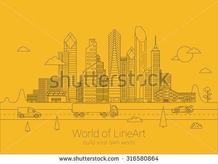 Стоковые вектора и векторный клип-арт Business Building   Shutterstock