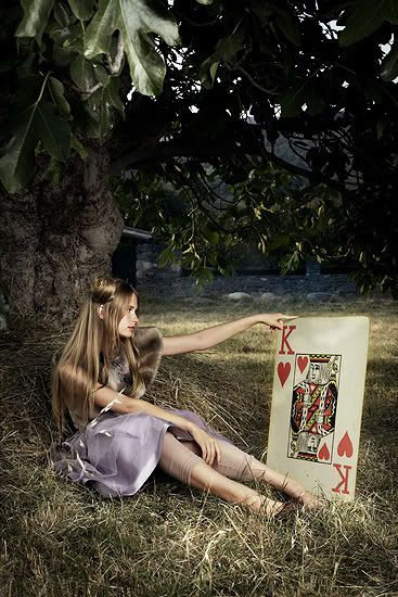 Alice in Wonderland / karen cox.  The Look: Wonderland.