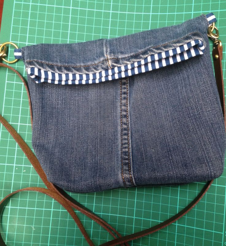 ReCycle Old Jeans Mini Sling Bag