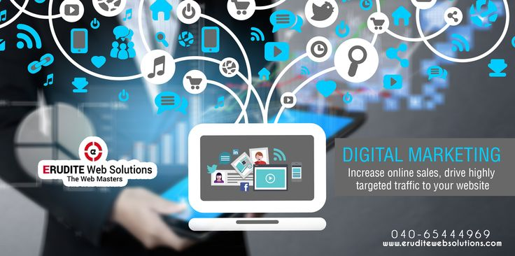 DIGITAL MARKETING :- Increase online sales, drive highly targeted traffic to your website more info-> http://www.eruditewebsolutions.com/marketing.html #DIGITALMARKETING #Marketing #Advertising #Socialmedia