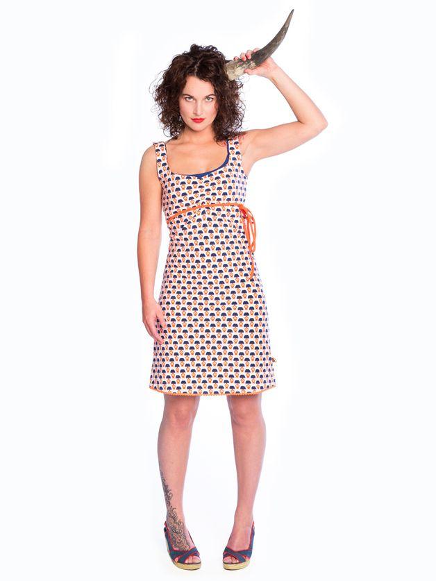 Halsoverkop jurken zijn verkrijgbaar bij Diezijner #lampenkapjes