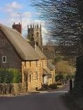 I lived in the last house furthest down the hill. Hook Norton, England