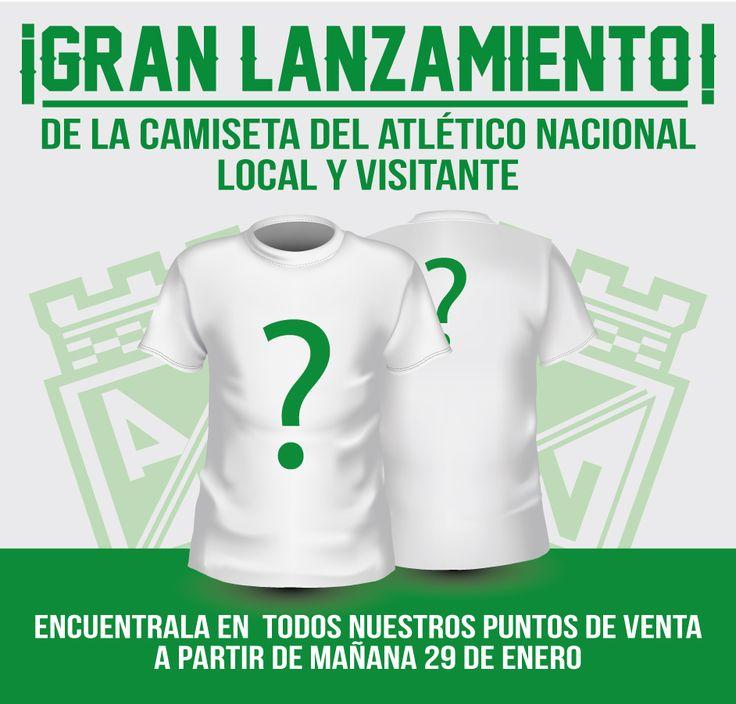 ¿Quieres tener la nueva camiseta del Atlético Nacional temporada 2016? A partir de mañana la puedes adquirir en todos nuestros puntos de venta excepto en los del centro de la ciudad. #BranchosSoloOriginales #Branchos