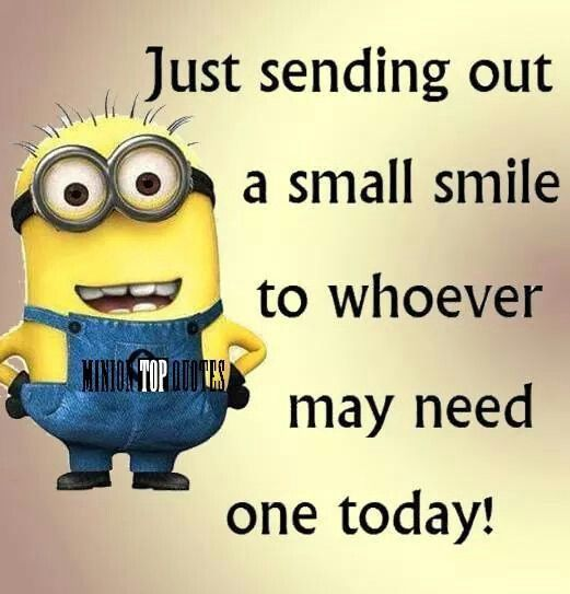 Sending a smile to anyone who needs one