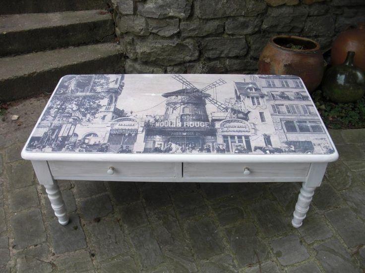 1000 id es sur le th me table basse blanche sur pinterest table basse cana - Table basse blanche et grise ...