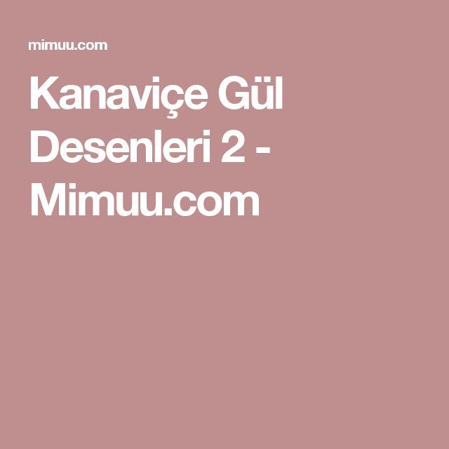 Kanaviçe Gül Desenleri 2 - Mimuu.com