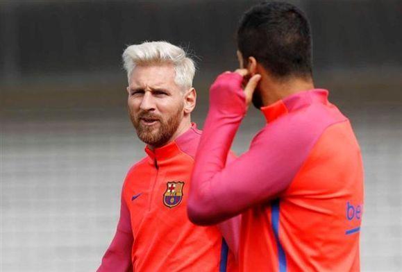 Liga Espanhola - Messi regressa aos treinos após paragem de três semanas