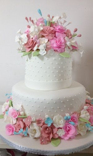 bolo falso de bodas de prata - Pesquisa Google