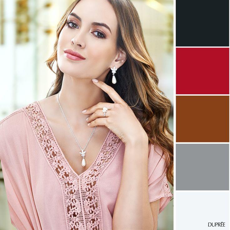 Combinar blusa rosa. Mujer Dupree