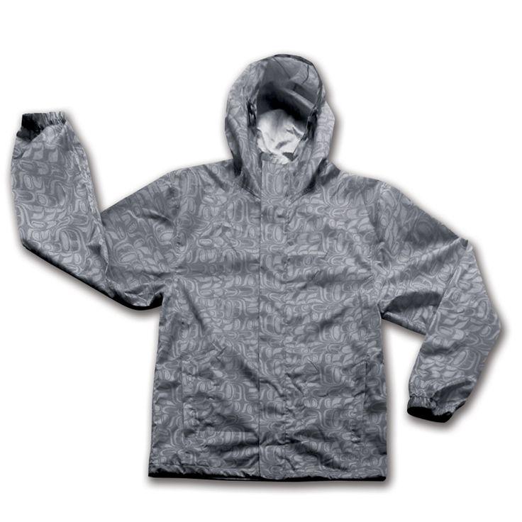 Rain Jacket - Pacific Formline by Paul Windsor (Grey)
